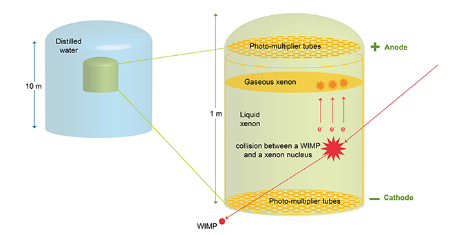 Dark Matter Diagram